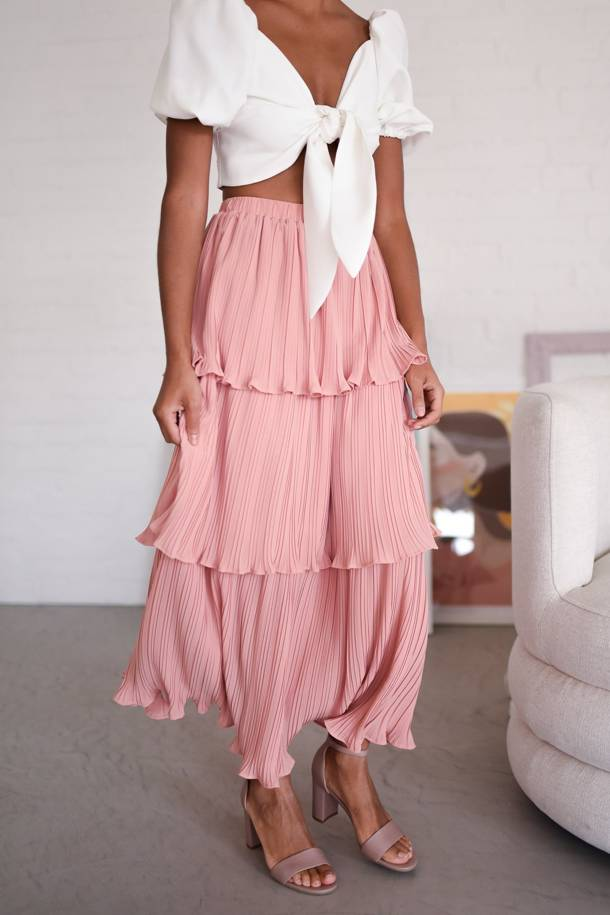 Anabelle Pink Skirt