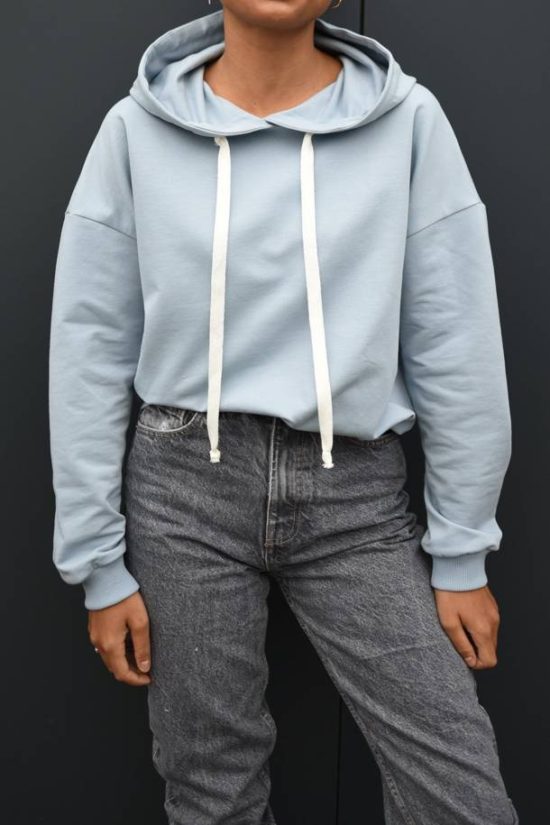 Sudadera Seana Dusty Blue